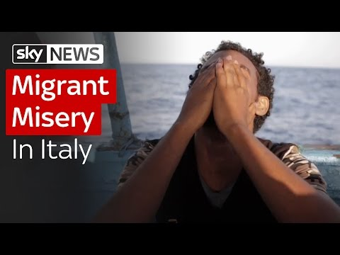 Migrant Misery In Italy
