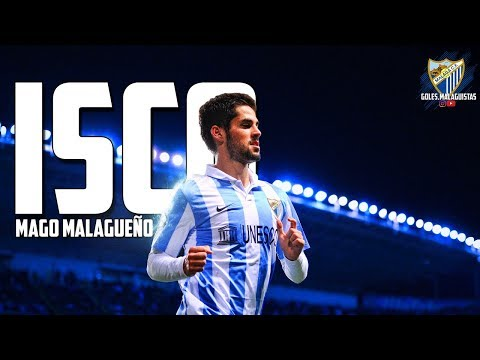MAGO MALAGUÑO - ISCO ALARCON - BEST MOMENTS AT MALAGA CF (HD)