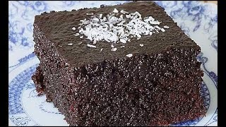 BOL SOSLU ISLAK KEK - Brownie Tarifi - (Sosu Yumurtasız)