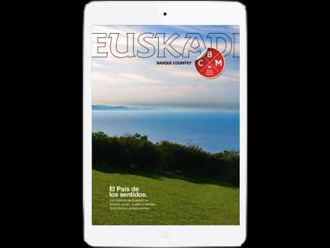 El tablet Magazine para quienes planifican su viaje a Euskadi.