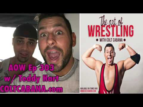 Teddy Hart - Art of Wrestling Ep 303 w/ Colt Cabana