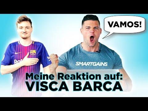 Meine Reaktion auf: VISCA BARCA TRANSFORMATION | SMARTGAINS