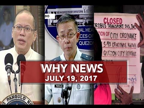 UNTV: Why News (July 19, 2017)