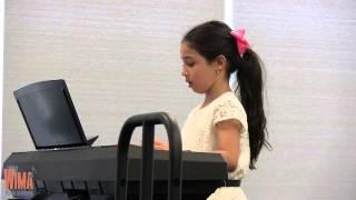 Gabriella Azoulay - Merrily We Roll Along & Rain Rain (Piano Performance) - LIVE @ WIMA Recital 2015