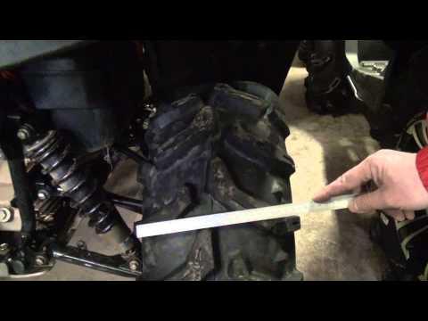 Резина для квадроциклов. Тест 2013
