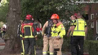 Gewonden na woningbrand in Groningen