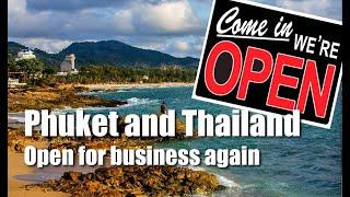 Reopening of Thailand starts in Phuket - Bill Barnett, c9hotelworks