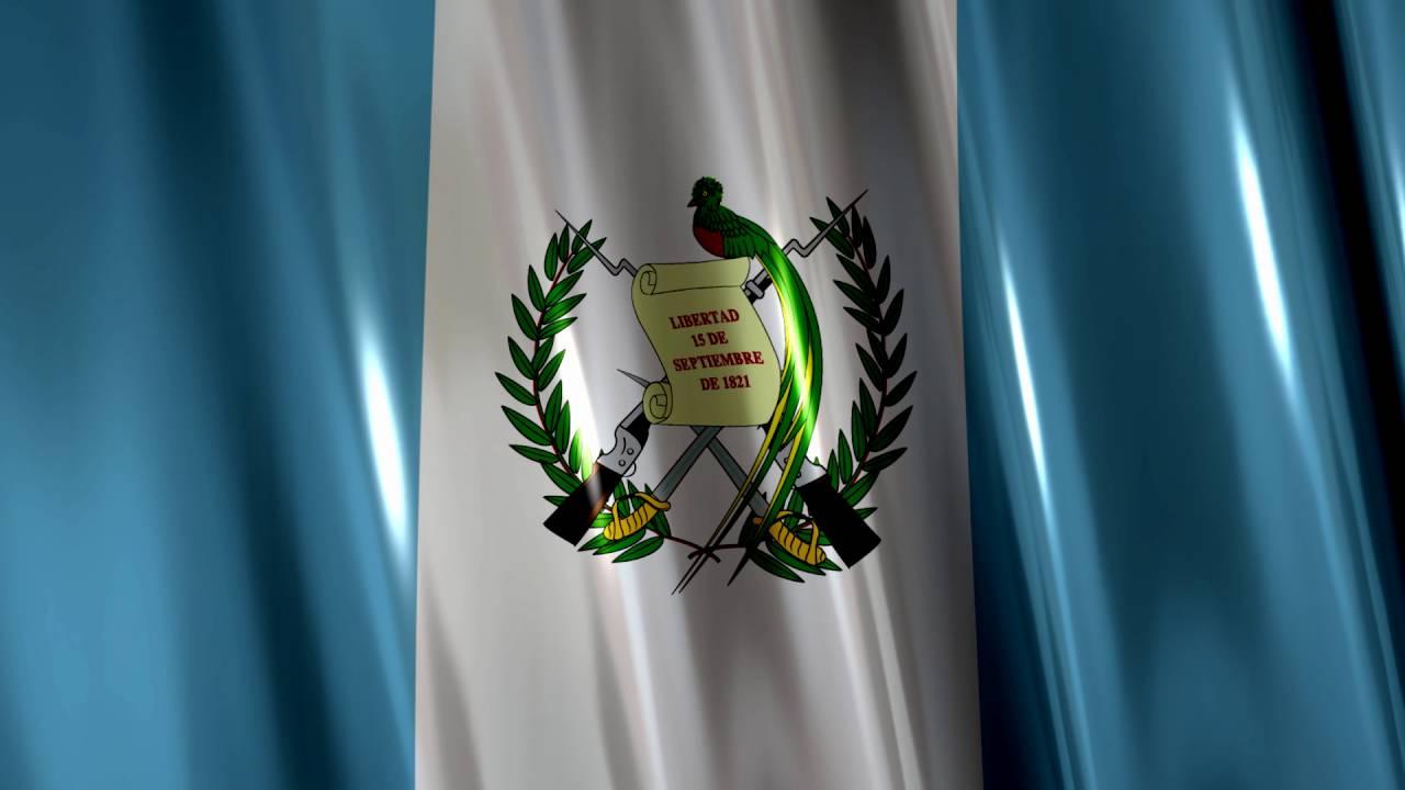 Bandera De Guatemala Con Brillos