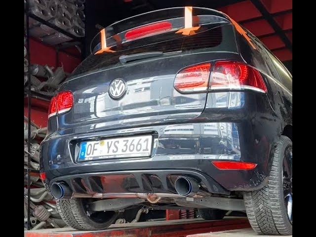 VW GOLF 6 GTİ DÖNÜŞÜM