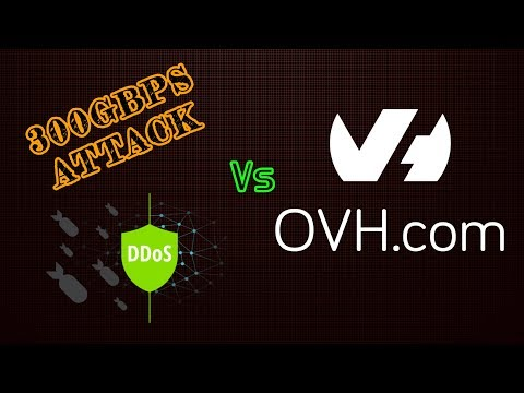 300Gbps DDoS Attack vs OVH Game VPN