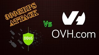 300Gbps DDoS Attack vs OVH Game VPN