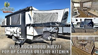 New 2019 ROCKWOOD HW277 Pop Up Camper RV Outside Kitchen Heated Mattresses For Sale Greeley Colorado
