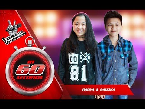 Nadya dan Gaizzka   The Blind Auditions   The Voice Kids Indonesia GlobalTV 2016