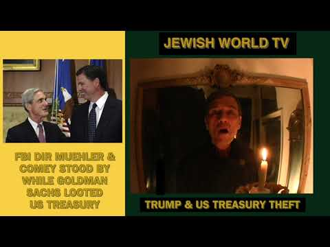 Jewish World TV Episode 3001 Goldman Sachs Treasury Note Thefts