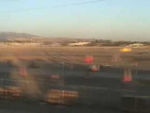 Motor Mike, Smoke'in at San Jose speedway, go kart track