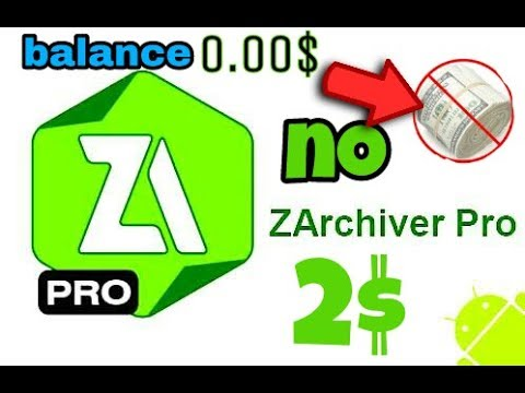 DOWNLOAD Zarchiver PRO FOR FREE !!! for extract NBA 2K17 IOS/android