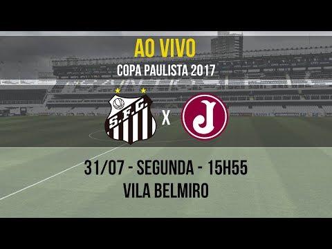 Santos B 2 x 2 Juventus | AO VIVO | Copa Paulista (31/07/17)