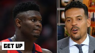 Zion Williamson calls his weight a 'blessing,' not a 'weakness' | Get Up