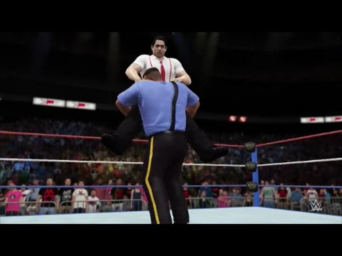 The Big Boss Man Vs Irwin R Schyster Wwf Prime Time Wrestling