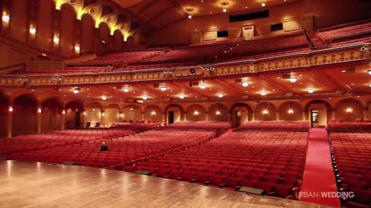 Wedding At The Orpheum Theatre Vancouver Bc Youtube