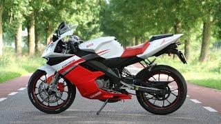 derbi gpr raw ride gopro hero 3 black