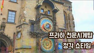 [나홀로]#1-1 프라하 천문시계탑 정각 쇼타임