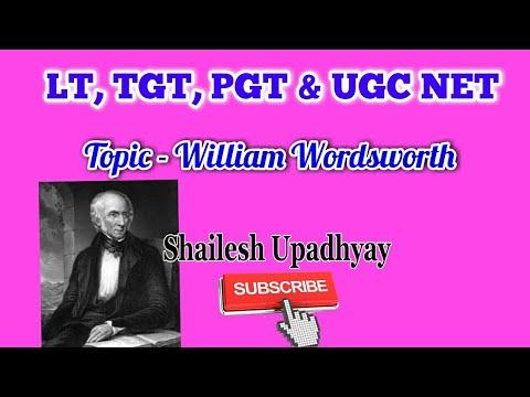 william wordsworth life summary