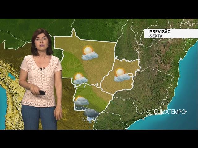 Previsão Centro-Oeste – MS em alerta para temporais