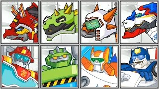 Dino Robot Corps + Rescue Bots - Full Game Play - 1080 HD