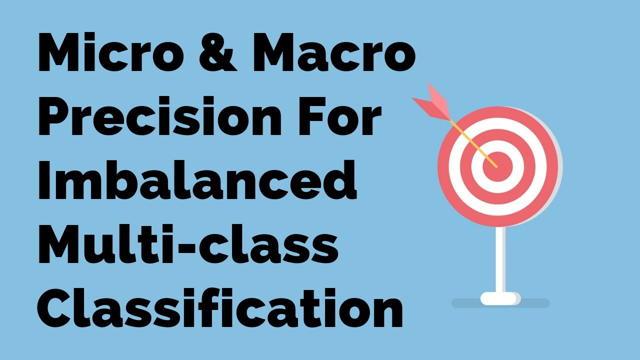Micro & Macro Precision For Imbalanced Multi-class Classification | Machine  Learning