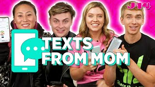 Carter, Stephen, Grace Sharer, and Lizzy Capri Reads Texts From Mom