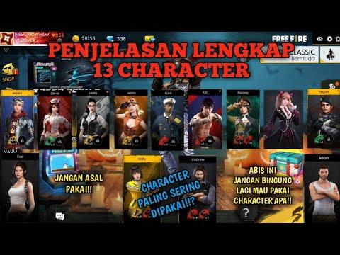 CHARACTER YANG COCOK DI PAKAI BUAT MAIN DI SETIAP MODE!!? | Free Fire Battleground