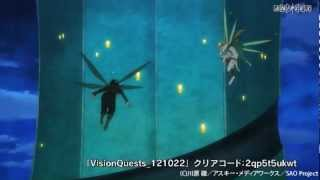 Sword Art Online avance 17 sub español