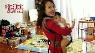 Chăm con với địu có ghế ngồi khỏe mẹ sướng con - Baby carrier - US Life @ Gia Đình Viễn Xứ