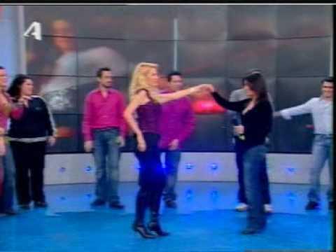 merkouri irini eleni menegaki ελενη μενεγακη ειρηνη μερκουρη greek tv show dance