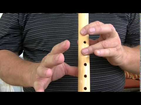 The Lion Sleeps Tonight, on a 5 Hole Flute, How to Play on the Native American Flute,