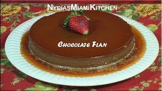 Chocolate Flan -bilingual Recipe