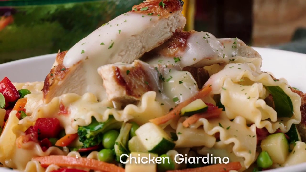 Tastes of the Mediterranean℠ at Olive Garden - YouTube
