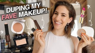 Drugstore DUPES For My FAVORITE MAKEUP! | Jamie Paige