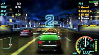 Need For Speed - Underground Rivals (PSP) Gameplay
