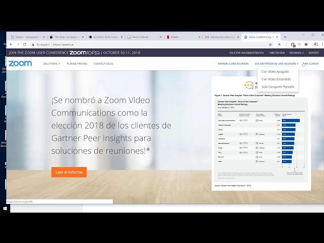 Como usar zoom para videoconferencias de manera gratis