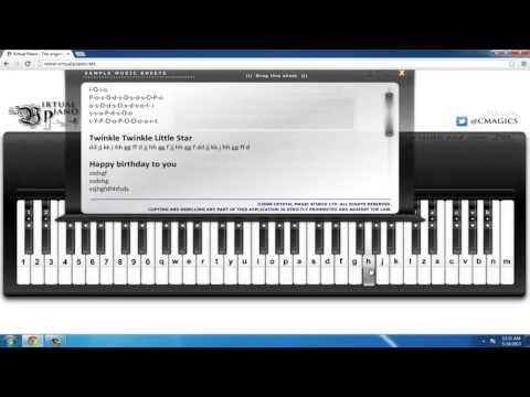 How to Play the Piano via Computer Keyboard!