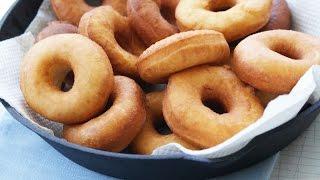 Творожные пончики в масле (Рецепт вкусных пышек)