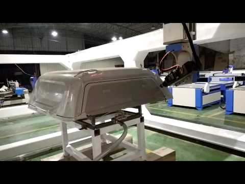 5 Axis CNC Router Milling Cut Truck Cover ABS RTCP