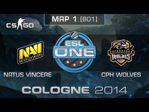 Natus Vincere vs. Copenhagen Wolves - ESL One Cologne 2014 - Group B - CS:GO