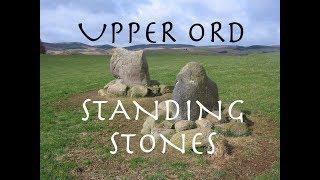 Upper Ord Standing Stones, Rhynie, Aberdeenshire, Scotland.