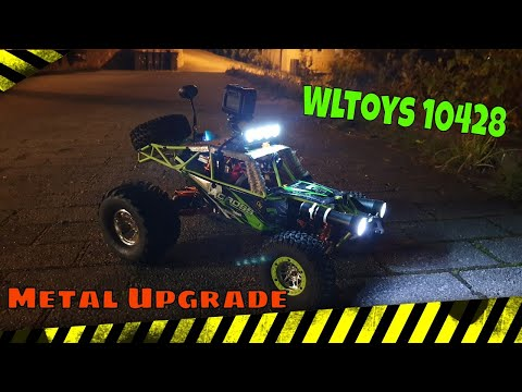 Wltoys 10428 FPV Car , upgrade metal parts from K949 and Twin Hammer