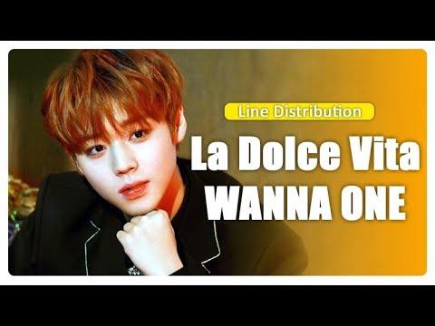 La Dolce Vita - WANNA ONE (Line Distribution)