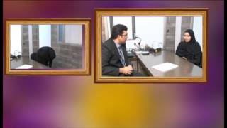 Dr Satyen Mehta in interview with patient Afsana.