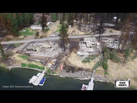 Raw: Loon Lake damage